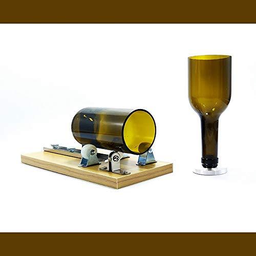 GuoYq Cortadores de Botellas de Vidrio, Kits de Herramientas para Cortar Vidrio, Cerveza de Corte, Licor, cortadores de Botellas de Whisky, Hacer Vasos, jarras de Cerveza, jarrones.