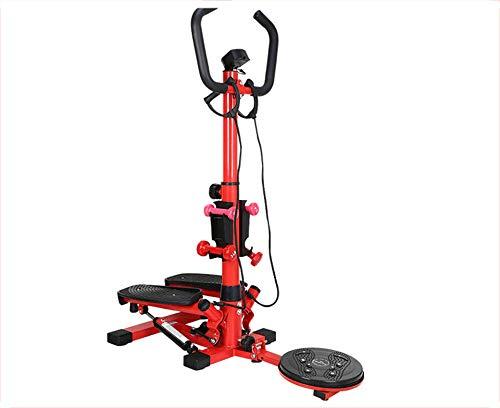 DFKDGL Up-Down-Stepper,für zuhause und Büro Mini-Stepper, kompakt, Trainingscomputer mit Kalorienzähler, Beine Po Fitness, Ganzkörper-Training, abnehmen