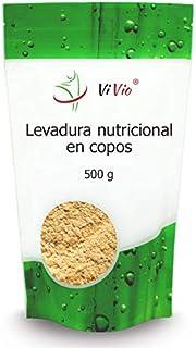 Levadura nutricional | en copos 500g | Inactiva | ViVio |