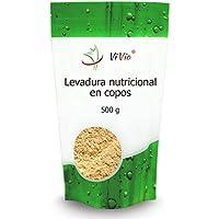 Levadura nutricional | en copos 500g | Inactiva | ViVio | Formato ahorro