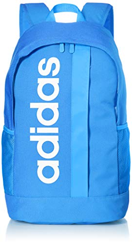 adidas Lin Core Bp Sports Backpack, Unisex adulto, True Blue/True Blue/White, NS