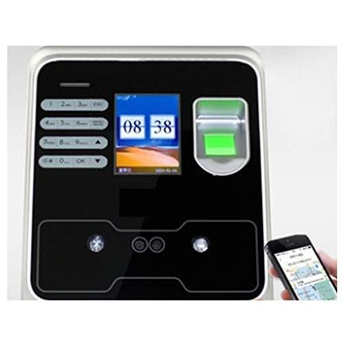 YEZIB Time-Uhren für den Fingerabdruckscanner, Chinesisch und Englisch Version der biologischen Gesichtsfingerabdruckerkennung Zeiterfassung Uhr