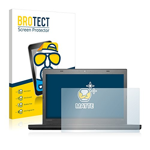 BROTECT Entspiegelungs-Schutzfolie kompatibel mit Lenovo ThinkPad T460 UltraBook Bildschirmschutz-Folie Matt, Anti-Reflex, Anti-Fingerprint