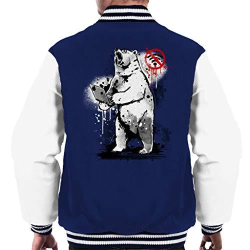 Geen Internet Bear Varsity Jacket voor heren