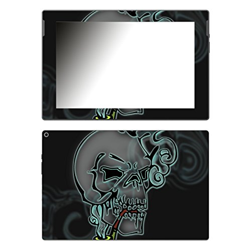Disagu Design Skin für Medion Lifetab P10341 (MD99233) Design Folie - Motiv Death's Head Smoke