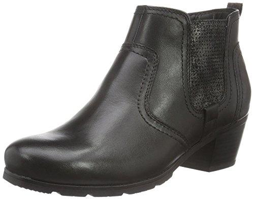 Jana Damen 25317 Chelsea Boots, Schwarz (Black 001), 40 EU