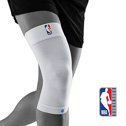 BAUERFEIND Sports Compression Knee Support NBA Rodillera Deportiva, Unisex Adulto