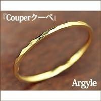 SISTINA JEWELRY システィーナ オリジナルジュエリー K18 クーペ Argyle-アーガイル- カットデザインリング (K18イエローゴールド, 2)