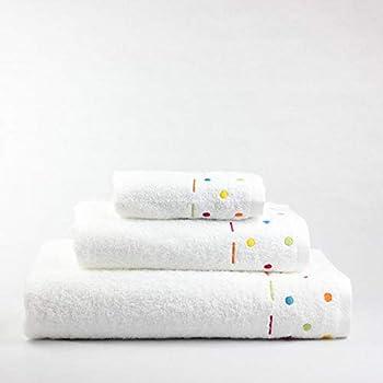 Juego de Toallas para bebés Florencia (1 Toalla de baño,1 de Lavabo y 1 de tocador) Algodón 100%: Amazon.es: Hogar
