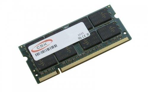CSX Arbeitsspeicher 2GB RAM DDR2 SODIMM für Asus Eee PC 1000H, 1000HE, 1000HG, 1001HA, 1001P, 1001PX Seashell, 1002HA, 1003HAG