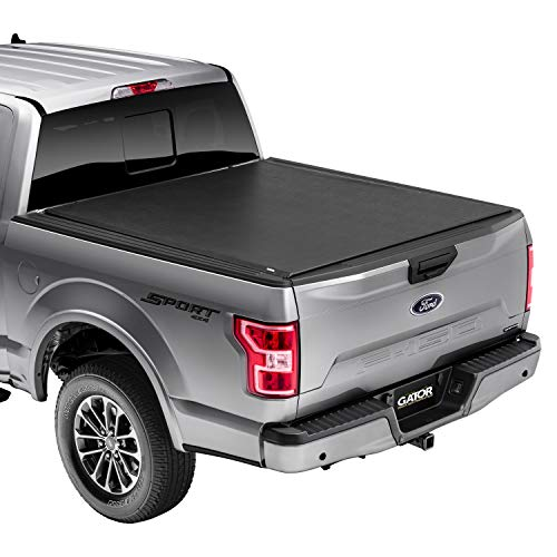 "Gator ETX Soft Roll Up Truck Bed Tonneau Cover | 53315 | Fits 2015 - 2020 Ford F-150 5' 7"" Bed (67.1"")