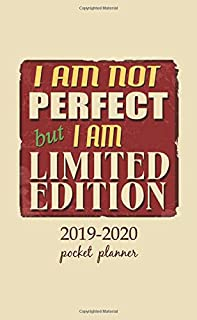 2019-2020 Pocket Planner: 2 Year Pocket Monthly Calenda Planner Schedule Organizer Appointment Journal Notebook 4 x 6.5 inch And