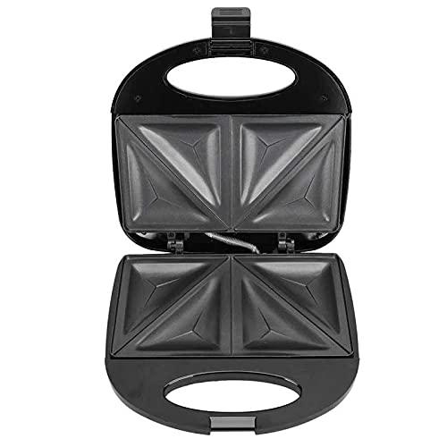 Sandwicheras Grill, Grill Sandwich Maker 750W Máquina De Hacer Sándwiches Eléctrica De Doble Cara Máquina Automática Para Hacer Desayuno Desayuno Doméstico