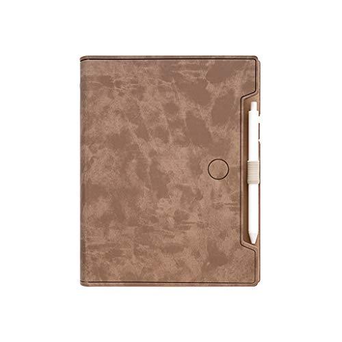 Boji Libreta - Cuaderno multifunción de piel sintética, tamaño A5, cuaderno de notas y lápiz