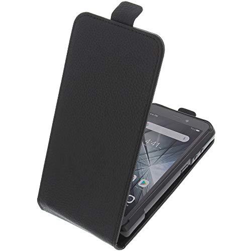 foto-kontor Tasche für Ulefone Armor X5 / Armor X5 Pro Smartphone Flipstyle Schutz Hülle schwarz