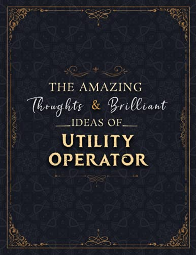 Compare Textbook Prices for Utility Operator Sketch Book - The Amazing Thoughts And Brilliant Ideas Of Utility Operator Job Title Cover Notebook Journal: Notebook for Drawing, ... 8.5 x 11 inch, 21.59 x 27.94 cm, A4 size  ISBN 9798522350468 by Hodson, Danyl
