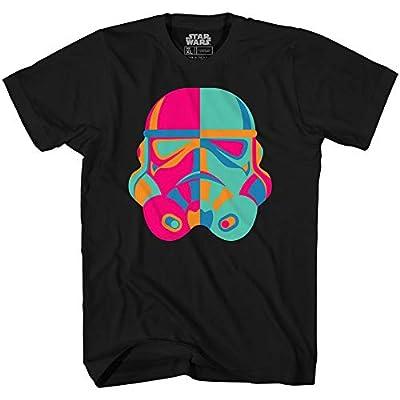 Stormtrooper Storm Trooper Troop Trip Funny Humor Mens Adult Graphic Tee T-Shirt (Black, X-Large)