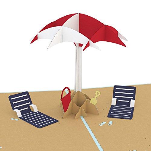 Lovepop Beach Day Pop Up Card, Summer Card, 3D Card, Greeting Cards, Celebration Card