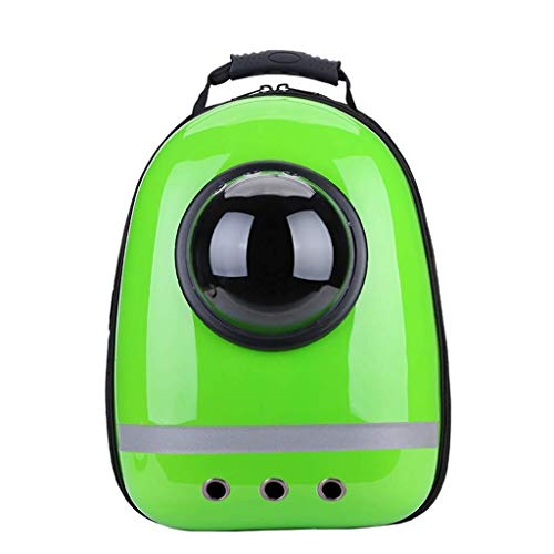 SCDCWW Pet Backpack Pet Travel Bag Small Dog Space Capsule Knapsack Waterproof Breathable Pet Backpack Carrier for Small Dogs and Cats, Carrier Bag