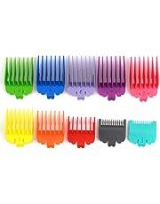 10 st hårklippare kammar guider hårklippare/trimmare skyddar hår gräns kam set hårklippare guide kammar skärningsguider för valklippare