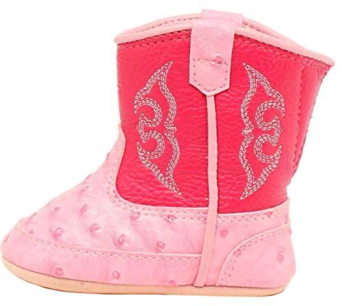 UGG unisex baby Lassen Ankle Boot, Seashell Pink, 2-3 Infant US