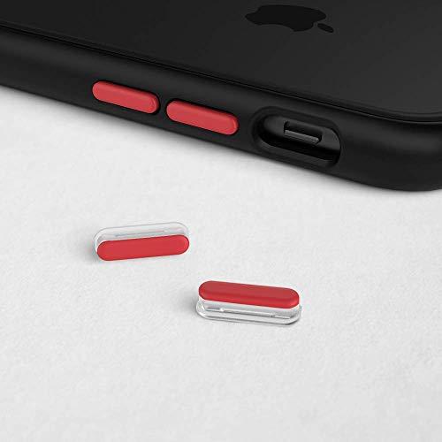 Kit De Boutons Adaptable sur Mod NX™ SOLIDSUIT™ et CRASHGUARD™ NX Compatible pour iPhone - RHINOSHIELD™ - Rouge