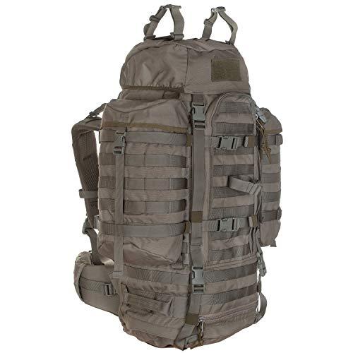 Wisport Bug Out Bag Damen & Herren + inkl. E-Book | Prepper Rucksack für Frauen Männer | BOB Backpack | Go Bag | Überlebensrucksack | Fluchtrucksack groß | Cordura | Wildcat 65 L RAL-7013