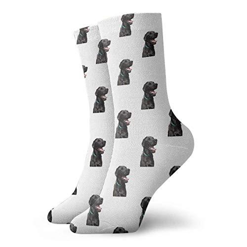 Kevin-Shop Mollys Dog Socks Classic Leisure Sport Chaussettes Courtes 30cm / 11.8inch Convient pour Hommes Femmes