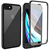LOFTer iPhone SE 2020 Hülle 360-Grad-Ganzkörper Schutzhülle iPhone 8 Cover Eingebauter...