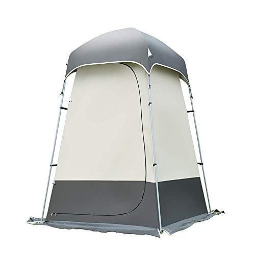 Zmsdt Camping Tente Toilette Pop Up Douche Tente Intimité pour Extérieur Changement Habillage Pêche Baignade Salle De Stockage Tentes, Portable avec Sac de Transport