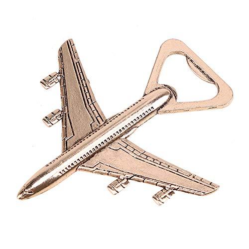 DonJordi Flaschenöffner Flugzeug Cooler Bieröffner für die Party - Miniaturflugzeug