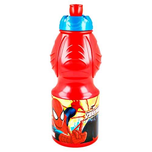 Spiderman Trinkflasche Sport Kunststoff 400 ml (Stor 33432)