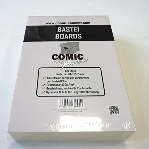 Unbekannt Comic Concept Bastei Boards (185 x 267 mm)