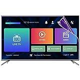 GFSD 27-75 Pulgadas LCD Protector de Pantalla Sin Burbujas Filtro de Luz Azul Anti Dureza 4H Adecuado for LCD, LED, 4K OLED Y QLED Y Pantalla Curva