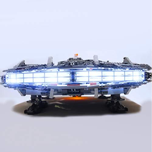 BANDRA Licht Kit - LED Licht-Set für Lego 75192 - Star Wars Millennium Falcon Bauspielzeug (Nicht enthalten Das Lego-Modell)