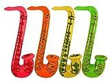 Microfono gonfiabile: 40 cm  Sassofono gonfiabile: 75 cm  Scelta disponibile: confezione da 4, confezione da 8, confezione da 12  Colori disponibili: chitarra gonfiabile, sassofono gonfiabile, microfono gonfiabile Dimensione disponibile: One Size Il ...