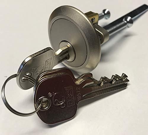 Außenzylinder Rundzylinder für Kastenzustztschloss z.B. ABUS BASI BKS Zeiss