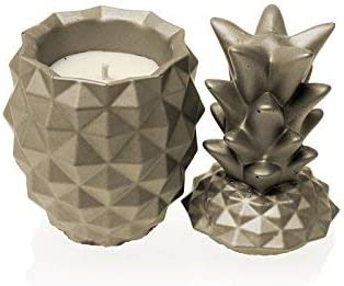 Candellana Candles Candlefort New products, world's highest quality popular! Ranking TOP16 Concrete Golden Candle- Pineapple