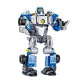 Xuanshengjia Jouets pour 3 4 5 6 7 Ans Garçons, Robots Jouets pour Enfants avec Perceuse Électrique Prenez, Assemblez dans Un Camion Pull-arrière Géant, pour Les Enfants, Les Garçons Et Les Filles