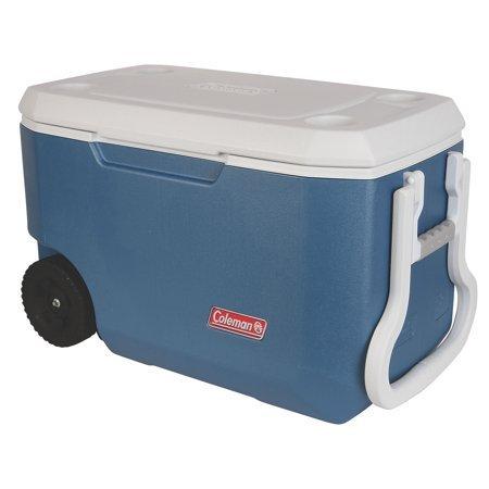 Coleman blau Kühler Combo mit 54-Quart Kühler, 5-Quart Kühler, und 1/3-gallon Krug, 62 Qt. Blue