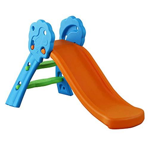 ZQY Los portaobjetos Plegable, Cubierta toboganes for niños, Plegado Arriba y Abajo Familia Diapositivas (Color : D)