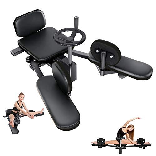 Zoomarlous Leg Training Stretch Machine, Strength Training Leg Machine of Leg Splitter Fitness Equipment, Leg Stretching Machine for Men and Women Home Gym Leg Training Fitness
