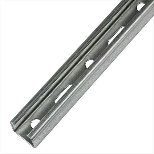 Stabilo-Sanitaer Montageschiene 28/30 2m Installationsschiene 28x30 mm 200cm C-Profil U-Profil Profilschiene Lochschiene Installationsschiene