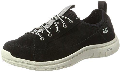 Cat Footwear Swain, Zapatillas Mujer, Negro (Womens Black/White), 39 EU