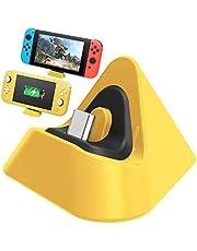 Nintendo Switch Lite Şarj Dock Charging Dock Sarı