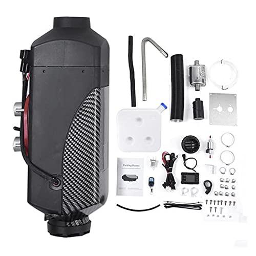 ZCX Zcxiong 12V 24V 5KW Aparcamiento Negro Calentador de Aire Calentador Autónomo Calentador Diesel Encendido Calentador de Cobre para Autos Motorhome RV con Control Remoto LCD (Color Name : 5