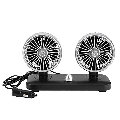Car Fan Electric 2 Speed Air Dual Head All Ranking TOP15 stores are sold Auto Cooling