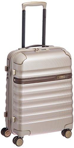 [サムソナイトブラックレーベル] スーツケース 公式 リッチモンド スピナー55 保証付 34L 55 cm 3kg アイボリーゴールド/コニャック