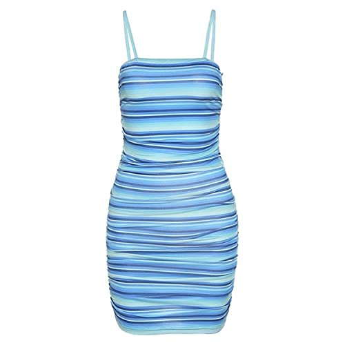 Women Summer Dress 2021 Fashion Hollow Out All Match Sexy Sleeveless Spaghetti Strap Dress for Beach Streetwear Bodycon Dresses