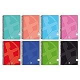 Unipapel Pack de 10 Cuadernos con Hojas Lisas, Tamaño Cuarto, Centauro 01-Uniclasic, Tamaño Folio, 80 Hojas, 90 Gramos, Colores Surtidos Aleatorios, 98450295